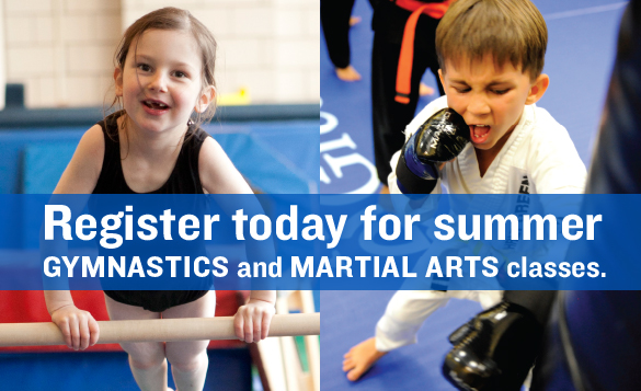 Summer Gymnastics and Martial Arts